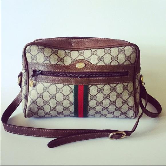 39105a5d48d587 Gucci Handbags - GUCCI 90's Jacquard Italian ribbon stripe handbag